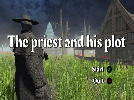 【新着同人ゲーム】The priest and his plotのアイキャッチ画像